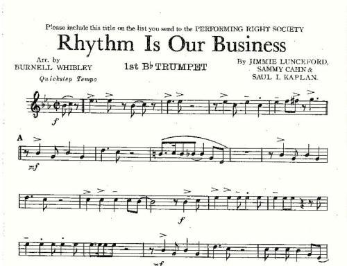 Big Band Charts Pdf